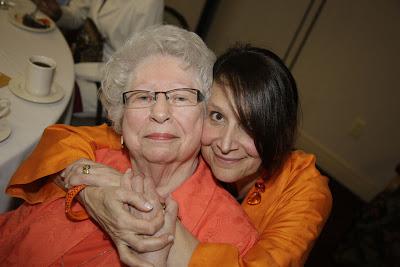 Aunt Ruth and Honey Lazar