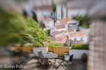 Rooftops, Garden, Obidos.