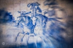 Iberic Horses and Royal riders in Azulejos