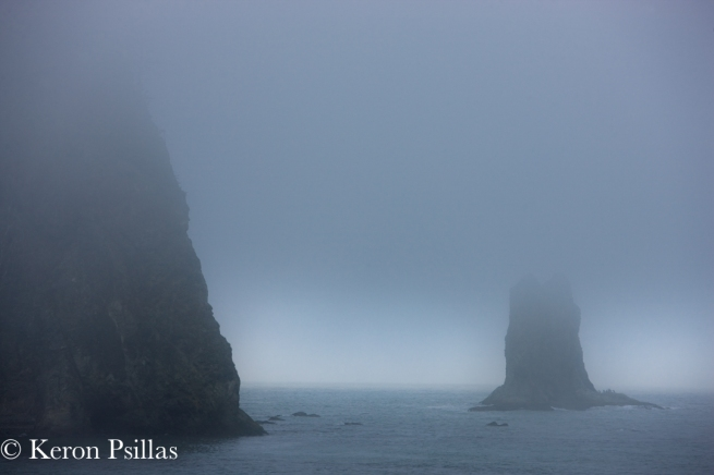 James Island and sea stack, Olympic Peninsula