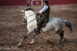 Orlando working a new horse for Tauromachie