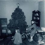 An early Christmas, age 2.