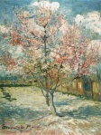 Van Gogh's peach tree in bloom near St. Remy