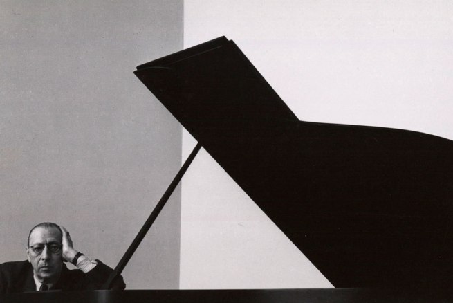 Arnold Newman's iconic portrait of Igor Stravinsky