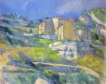 Cezannes houses near Aix en Provence