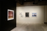 Burtynsky, left, Epstein and Davidson on far wall