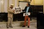 Skip donating five Walker Evans prints to Fototeca, our hosts.