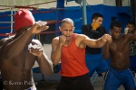 A boxing club in Old Havana.