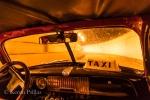 taxi interior, tunnel